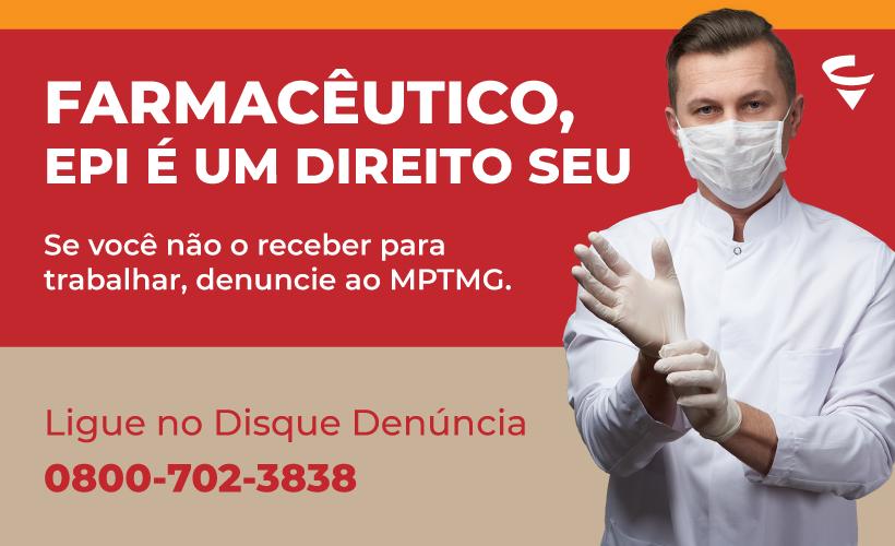 MPT acata ofício do CRF/MG e informa que está tomando providências para garantir EPIs aos profissionais de saúde